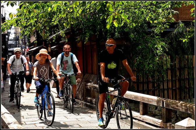 Escursione in bici Kyoto