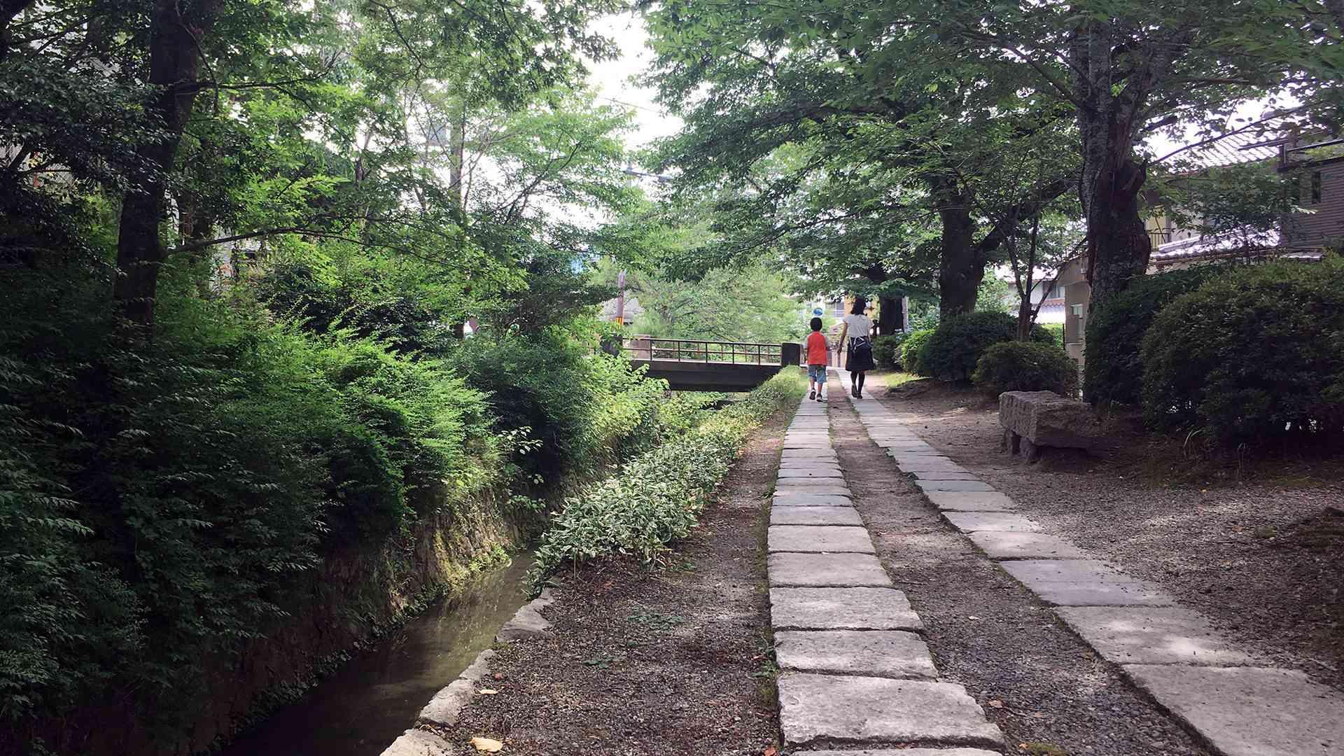Sentiero del filoso Kyoto