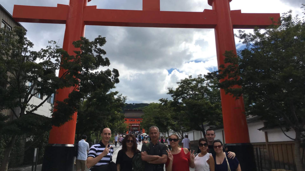 Fushimi Inari Taisha torii ingresso