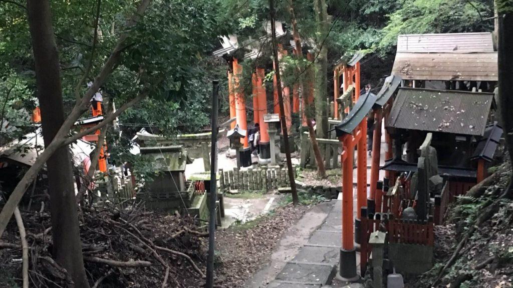 Fushimi Inari sentiero